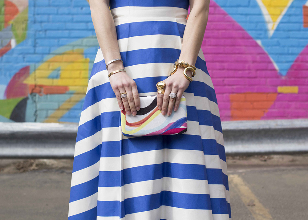 The Best Striped Gowns