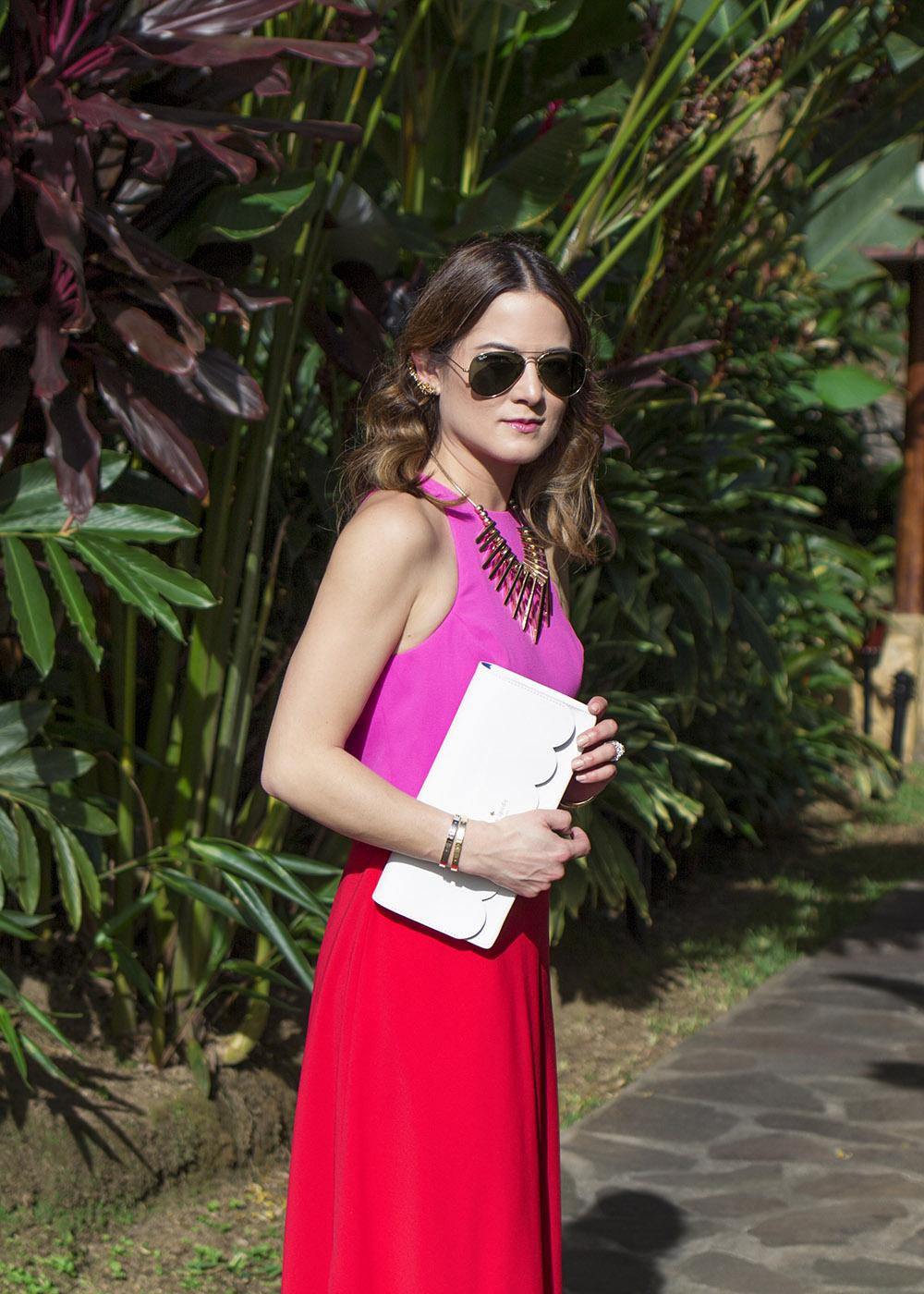 Jill Jill Stuart Red Pink Dress