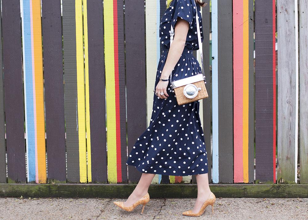 Kate Spade Camera Bag Wicker