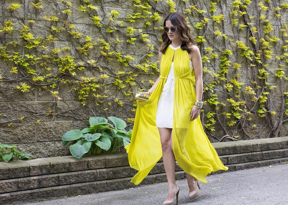 Sass & Bide Yellow Maxi Dress