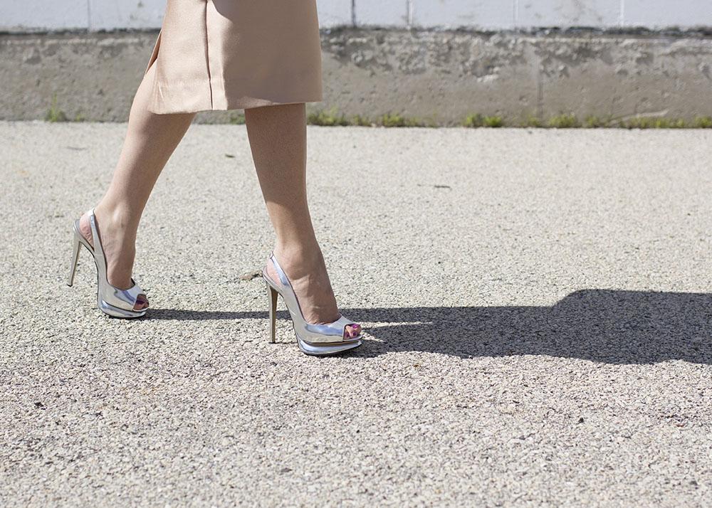 Nicholas Kirkwood Silver Heels