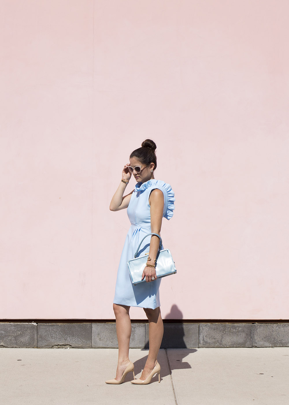 Camilyn Beth Go Go Dress Blue
