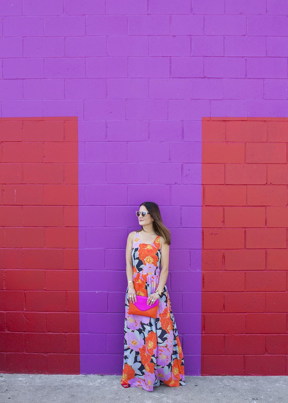 Loft Full Bloom Maxi Dress