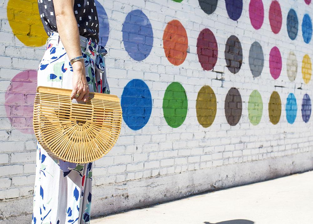 Bamboo Bag Purse