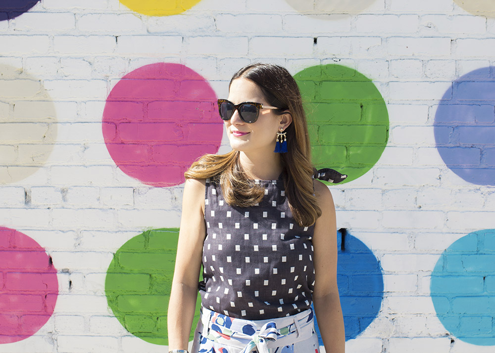 Los Angeles Mural Polka Dot