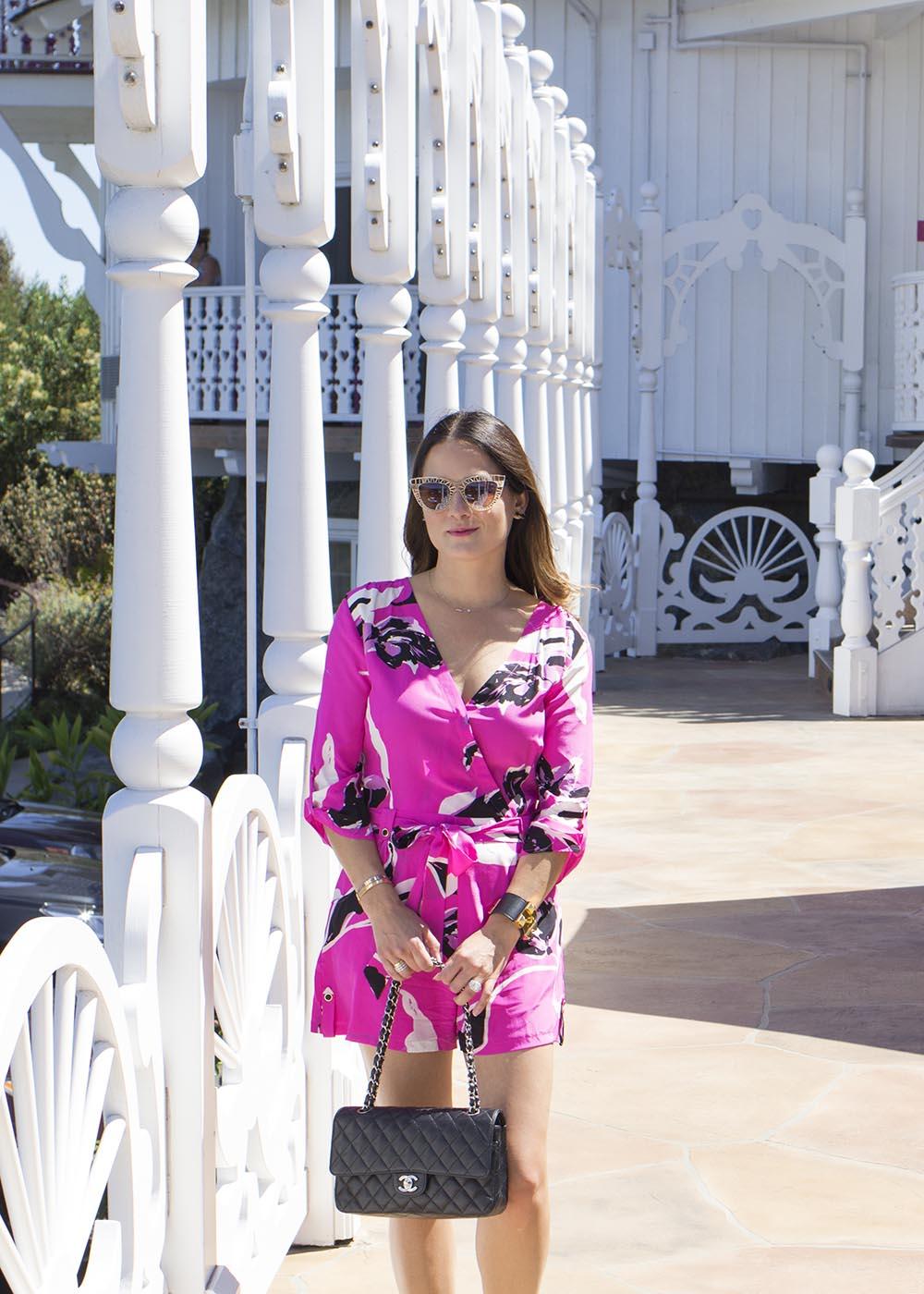 Yumi Kim Pink Romper