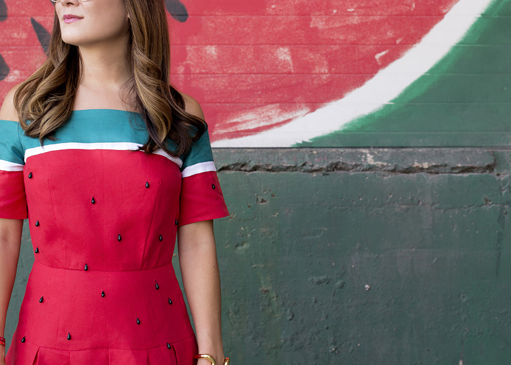Watermelon Dress Details