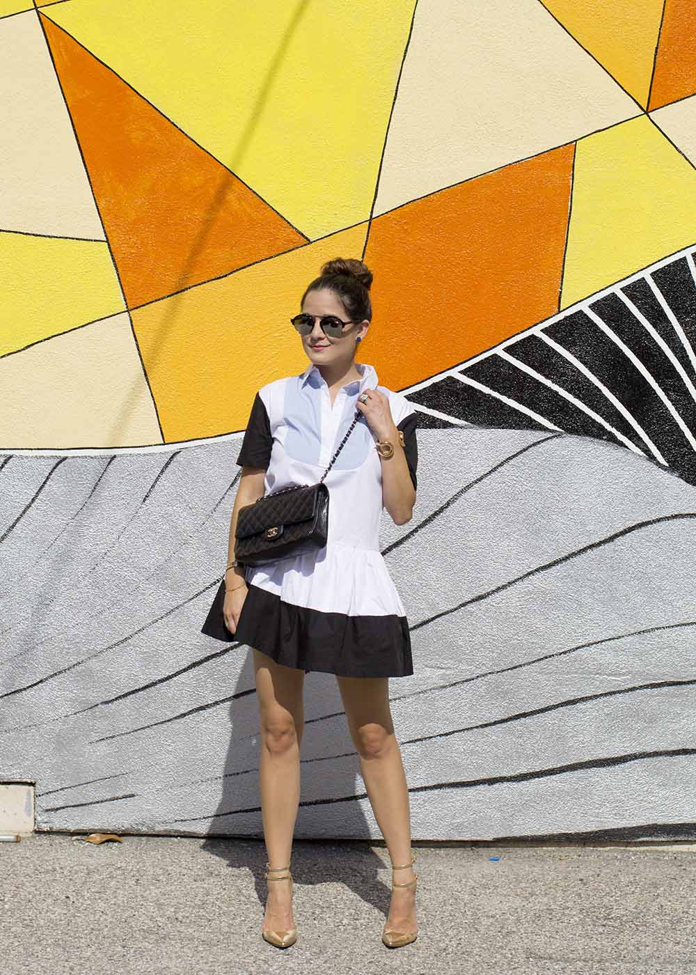 Los Angeles Colored Wall Mural