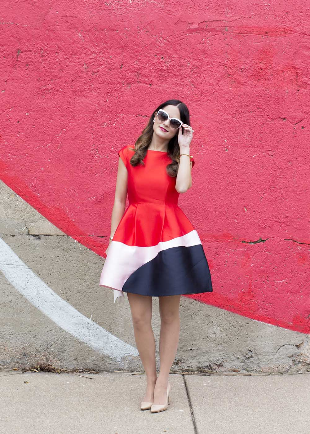 Kate Spade Colorblock Dress