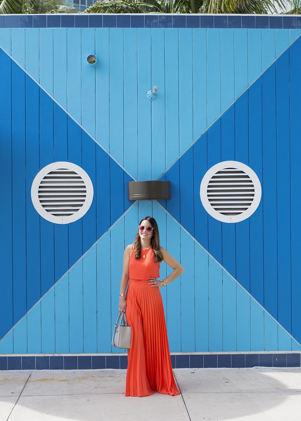 Miami Color Block Walls