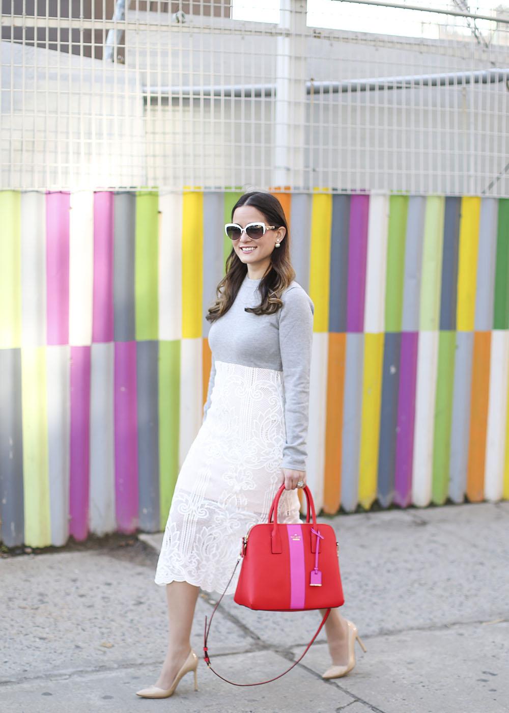 Street Style Lace Dress