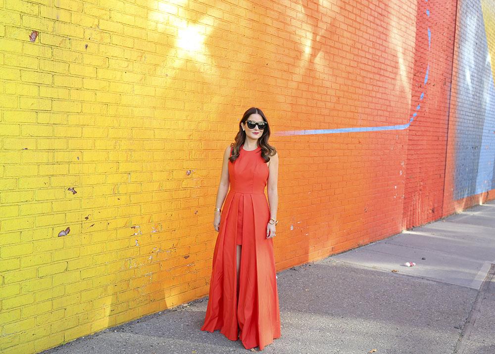 New York Street Art Ombre Wall