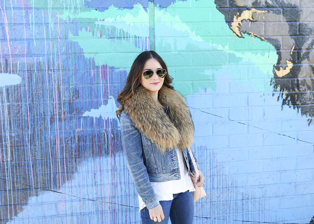 Winter Fur Stole