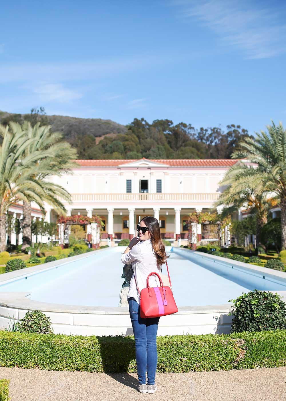 Getty Villa Malibu California