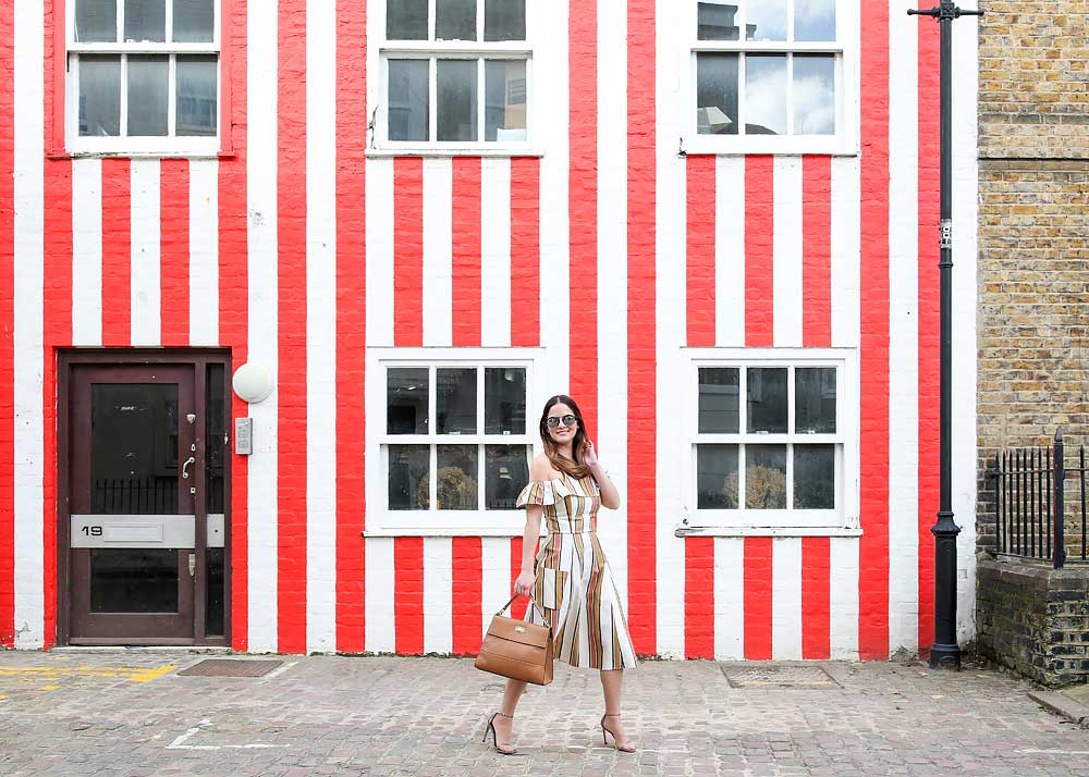 Striped Colored Wall London