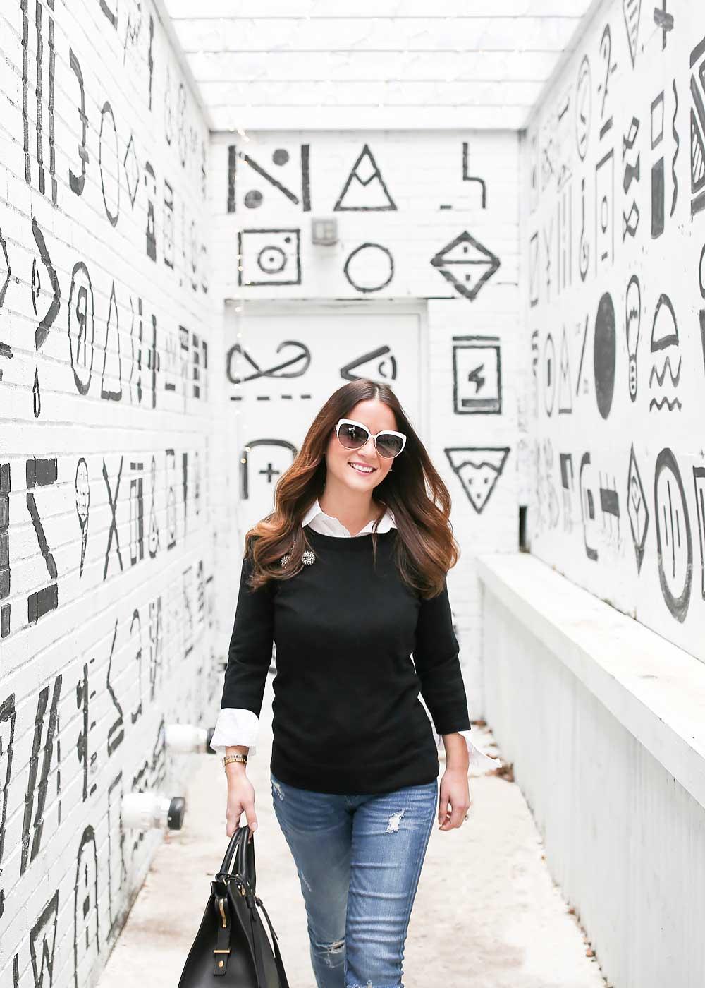 Black White Murals Wall