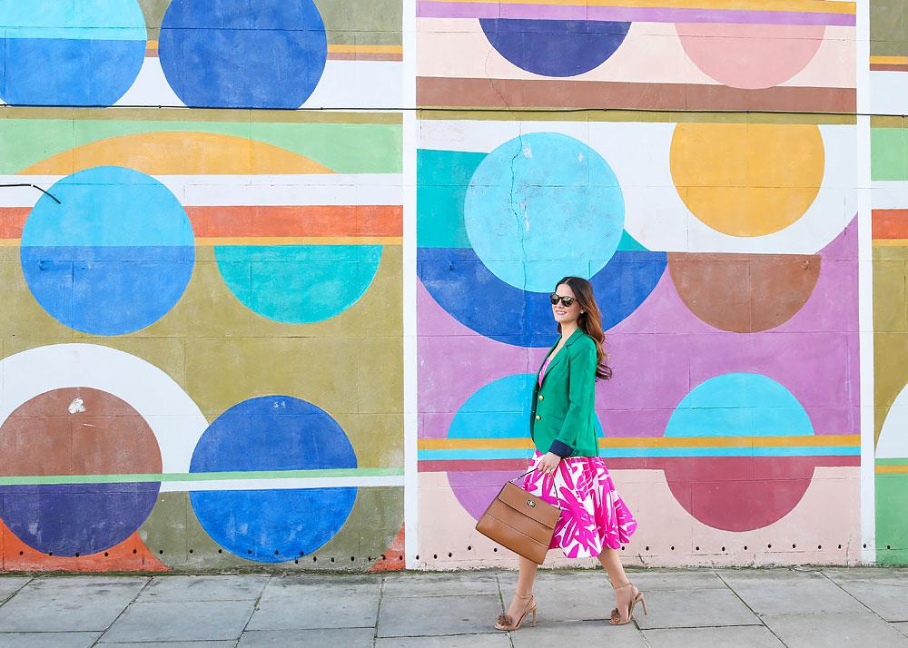London Colorful Mural