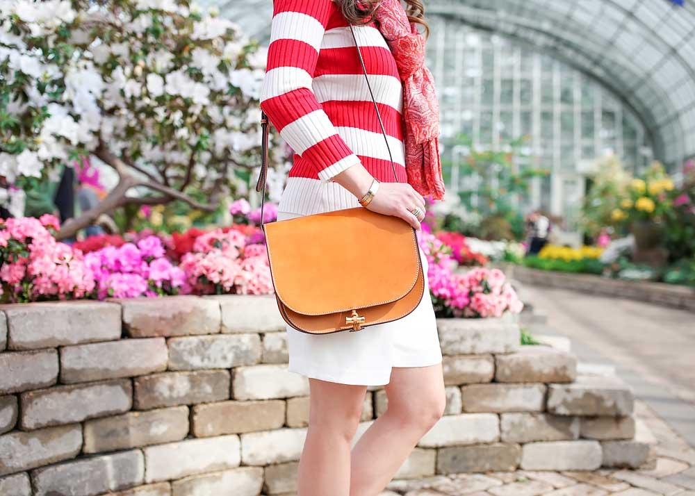 Tan Saddle Bag Purse