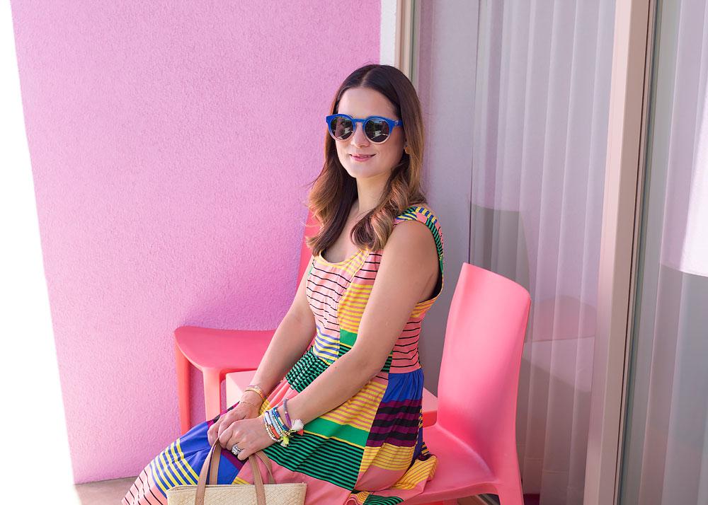 Multicolor Stripe Dress