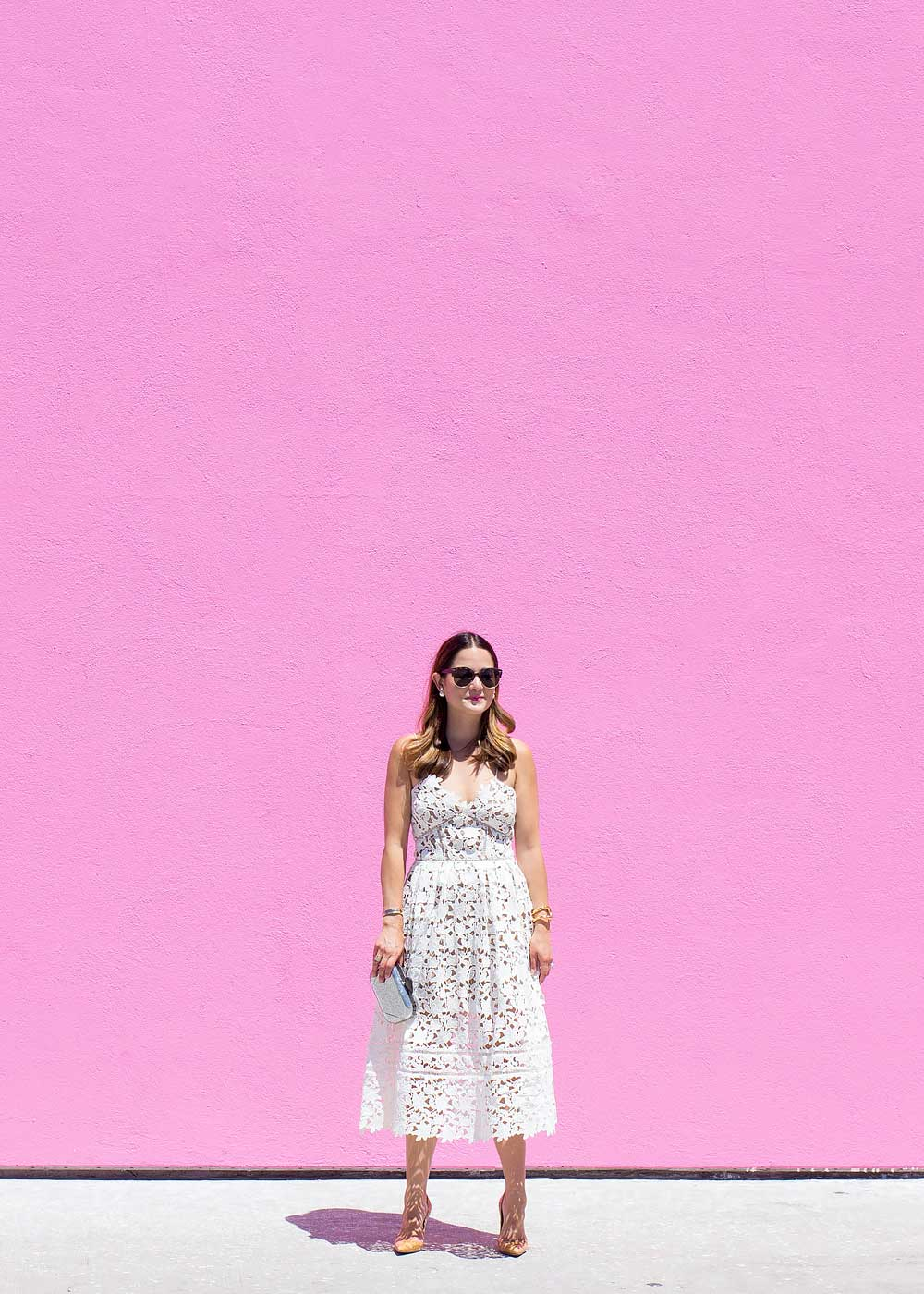 Los Angeles Pink Wall