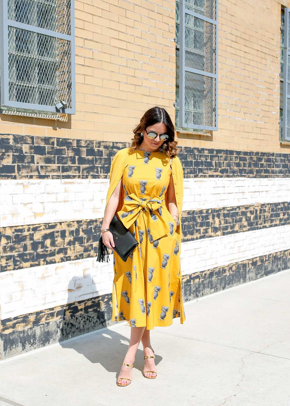 Yellow Dress Outfit