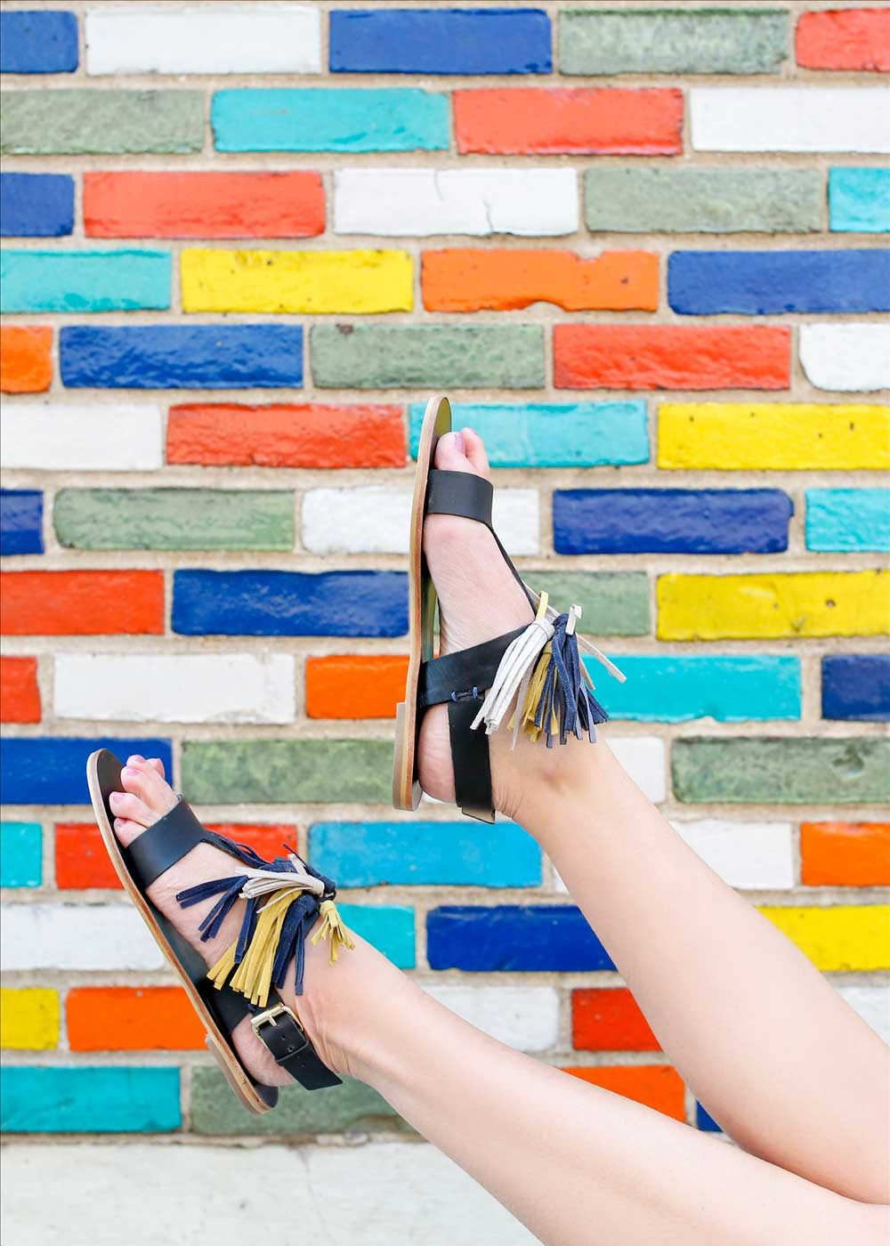 Flat Summer Sandals Tassel