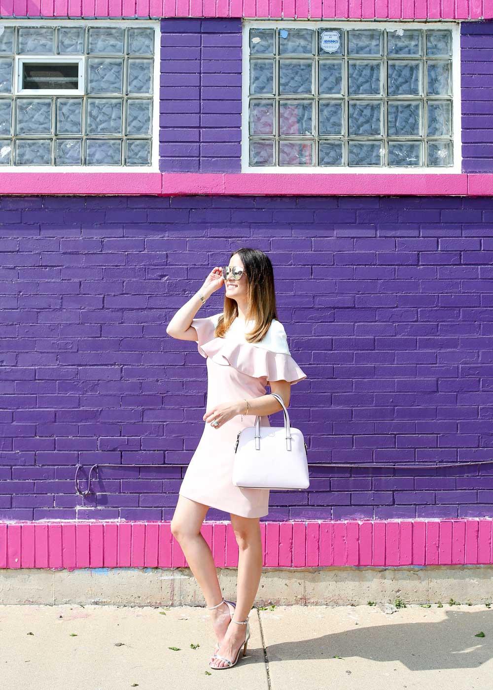 Colorful Chicago Fashion Blogger