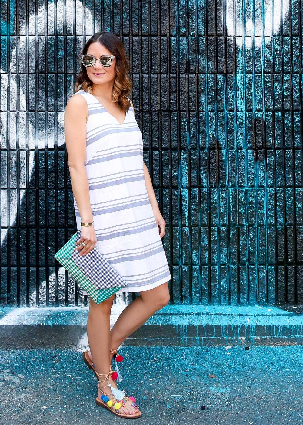Lilla P Shift Dress