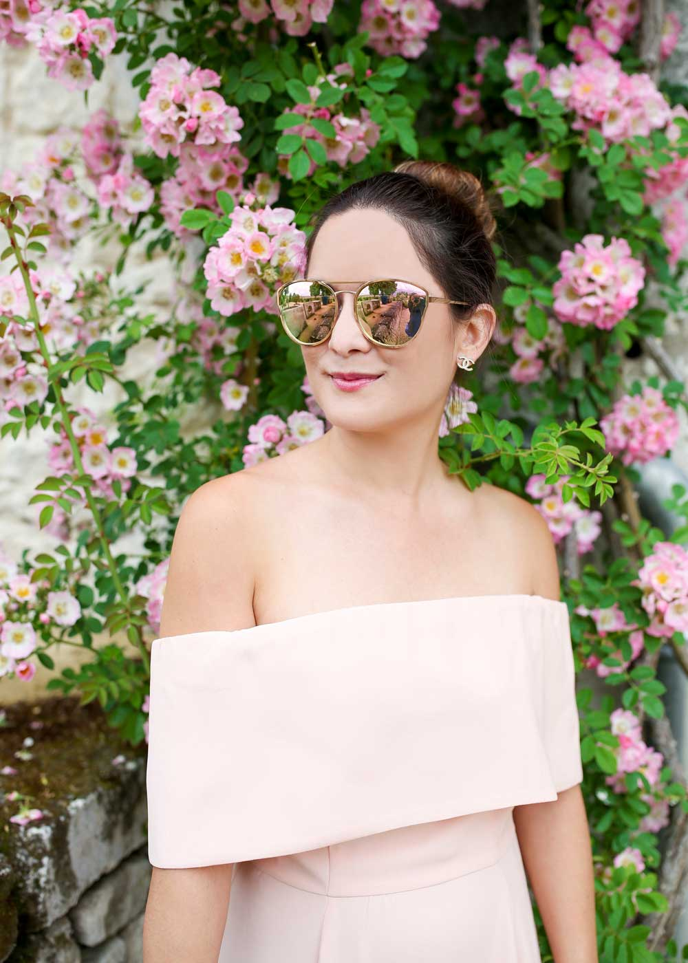 Quay Cherry Bomb Rose Gold Sunglasses