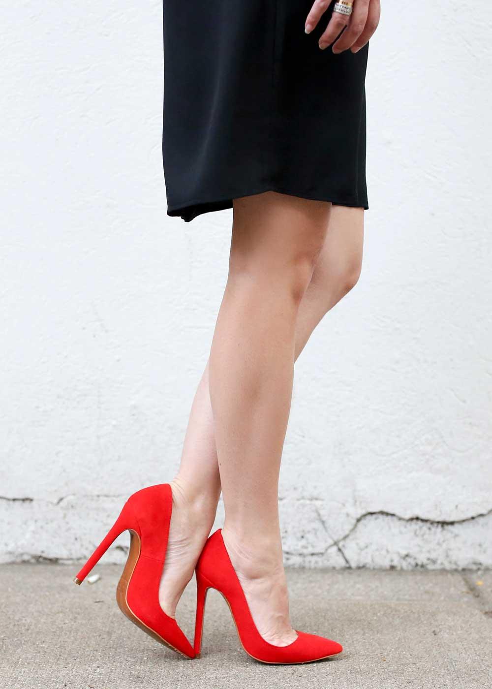 Red Lauren Marinis Gilda Pumps