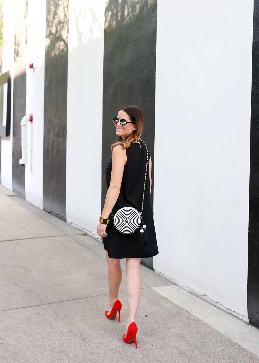 Nordstrom Black White Dress