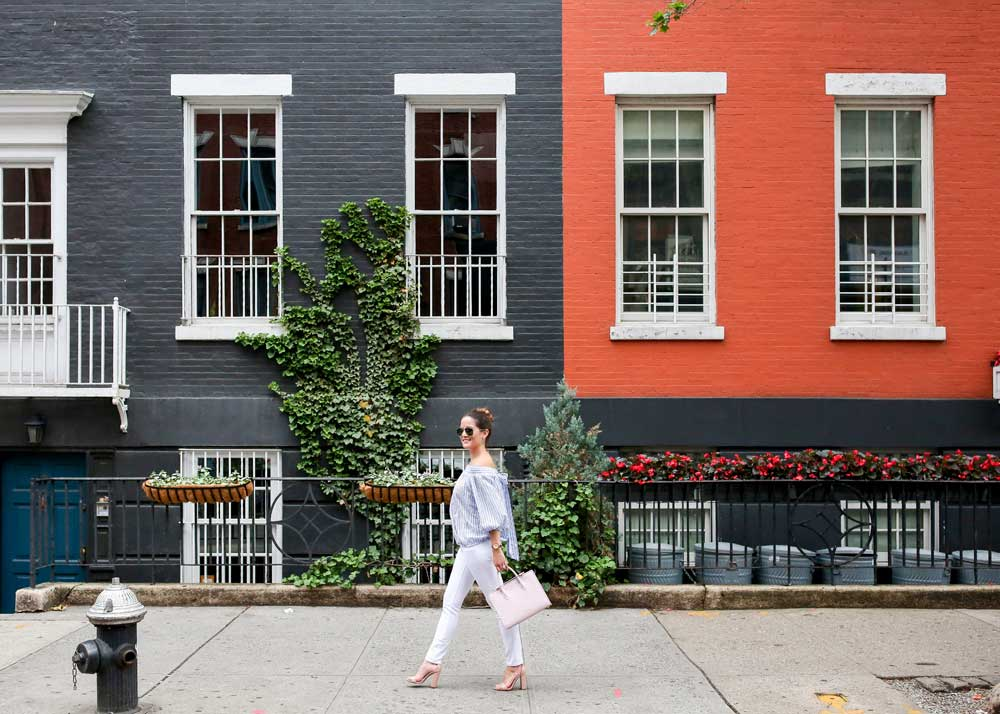 Greenwich Village Colorful Homes