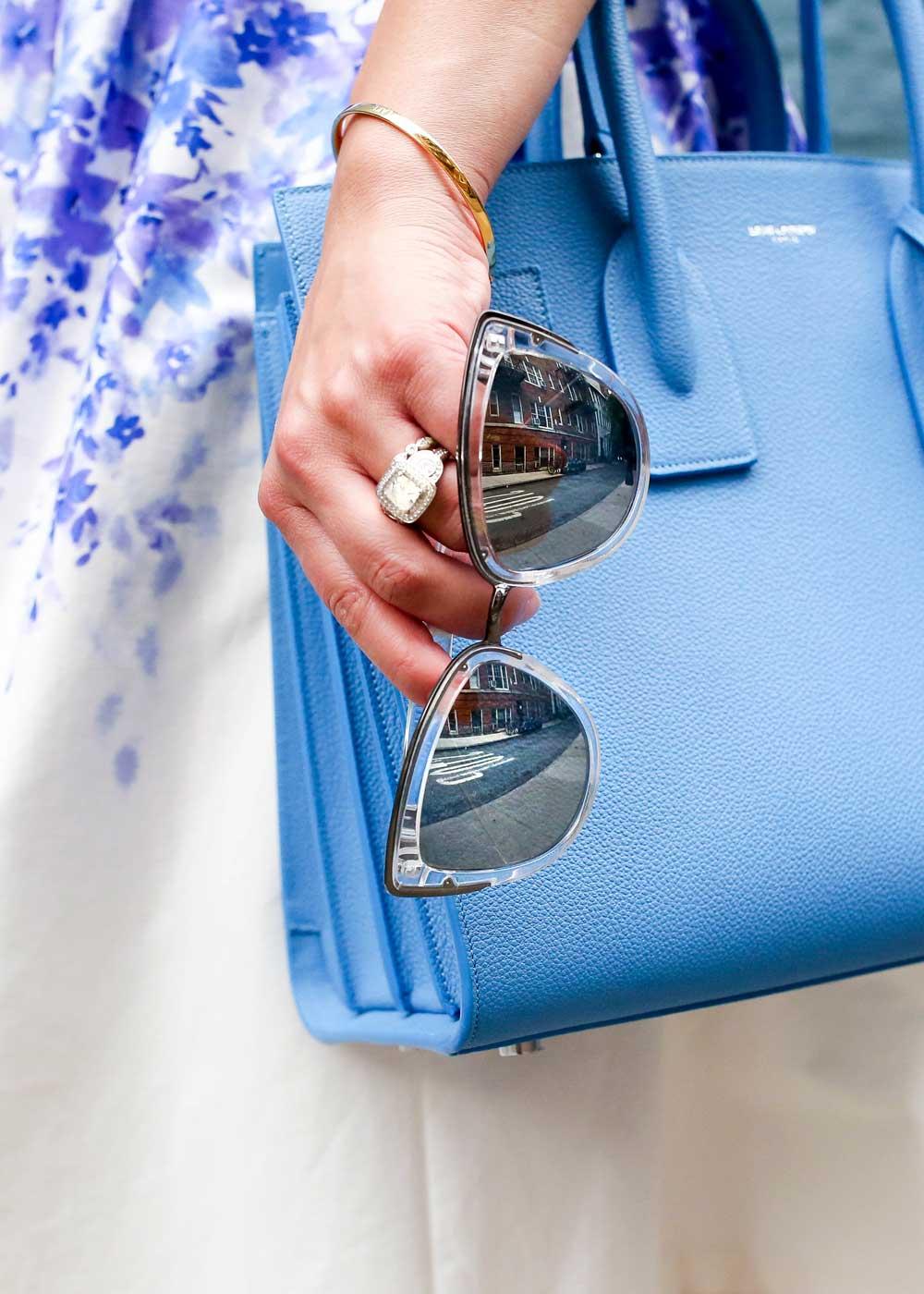 Quay My Girl Mirrored Sunglasses