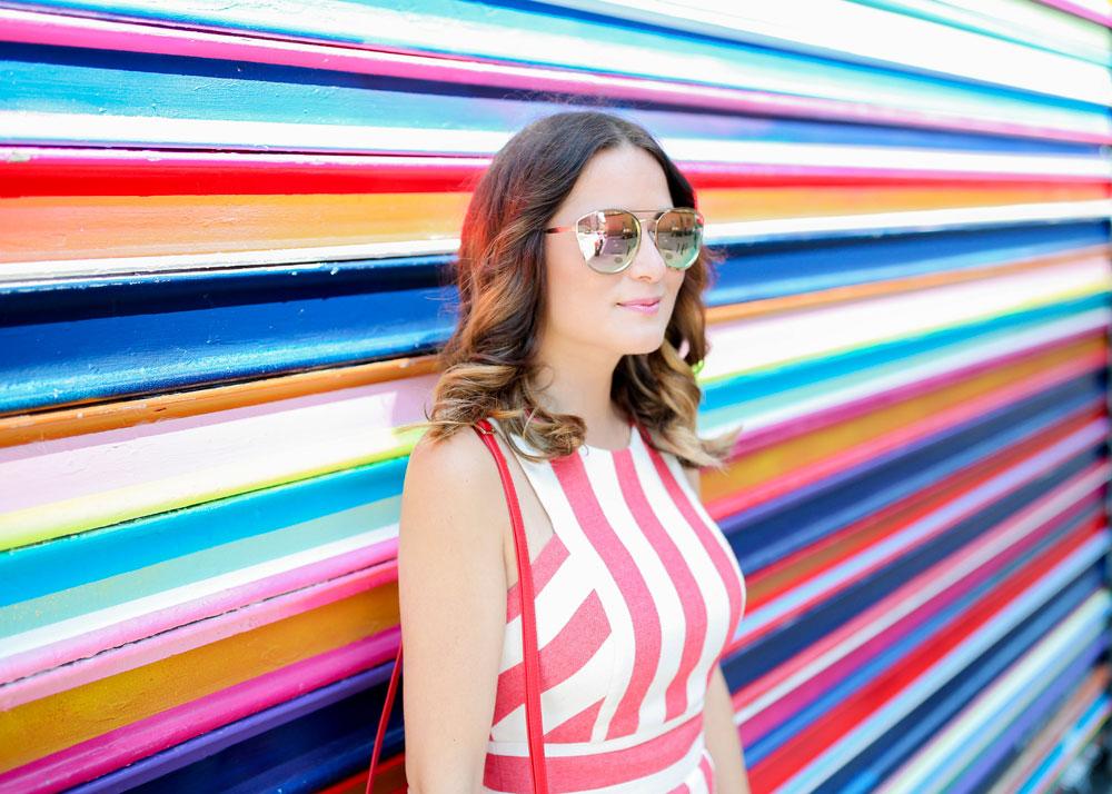 Quay Cherry Bomb Mirrored Sunglasses