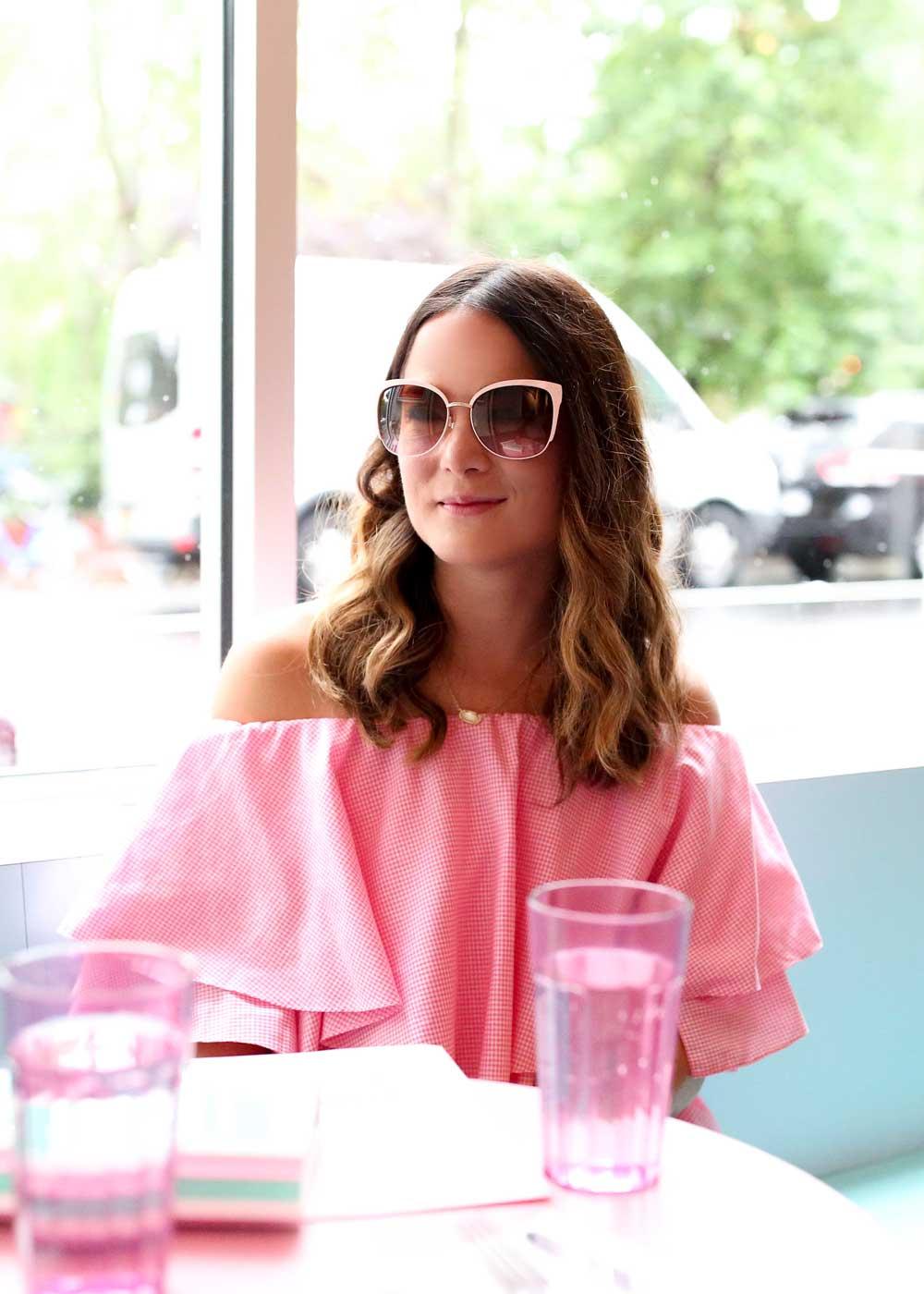 Kate Spade Pink Sunglasses