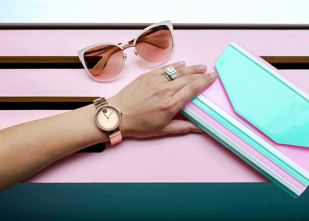 Movado Edge Watch Rose Gold