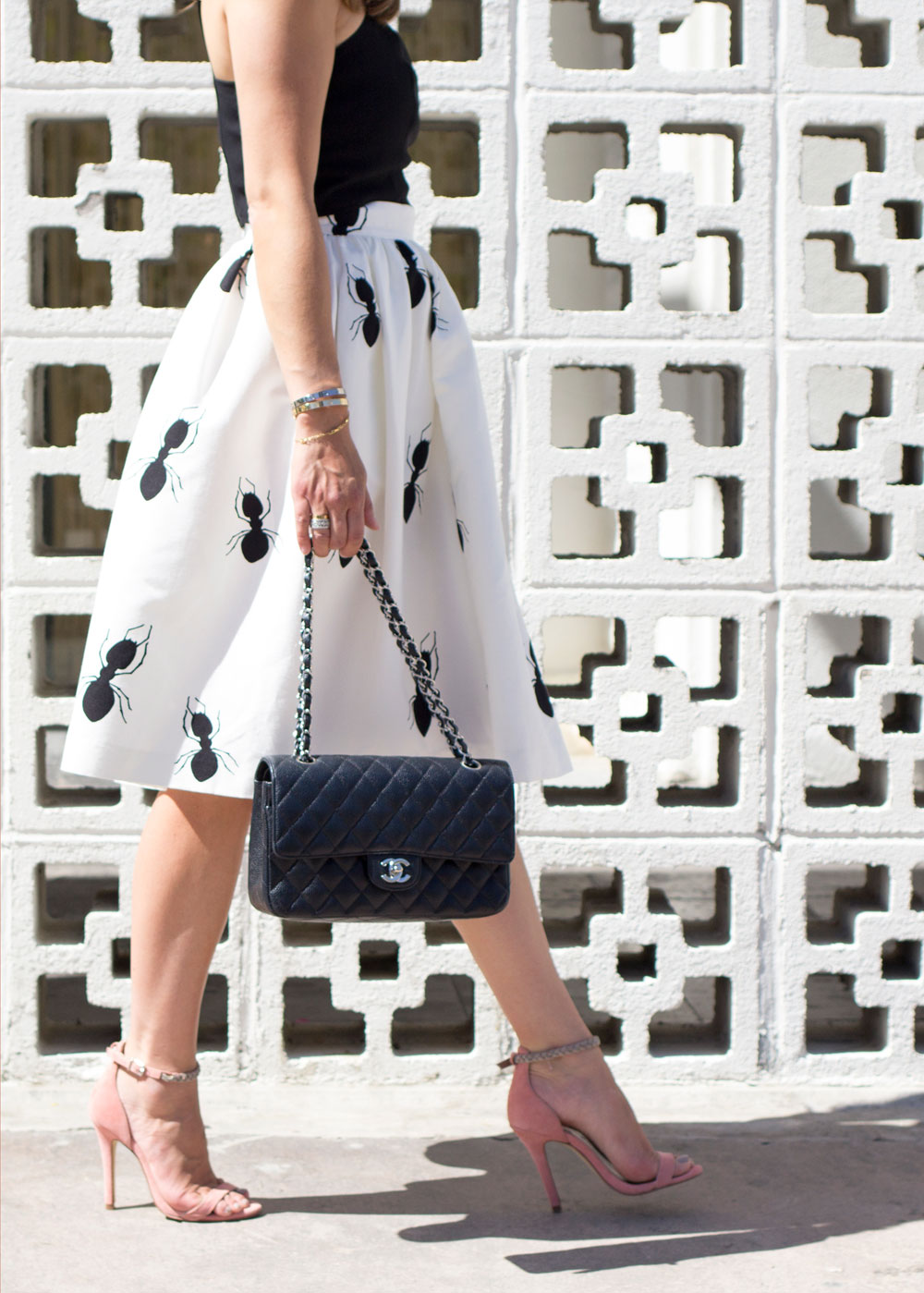 Black Quilted Chanel Flap Bag