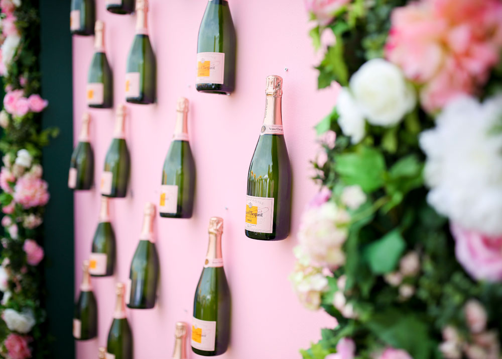 Veuve Clicquot Polo Classic Rose Garden Wall