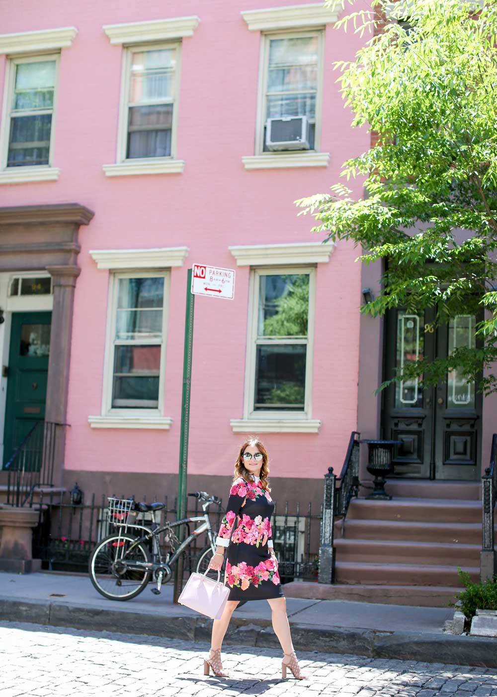New York Pink Houses
