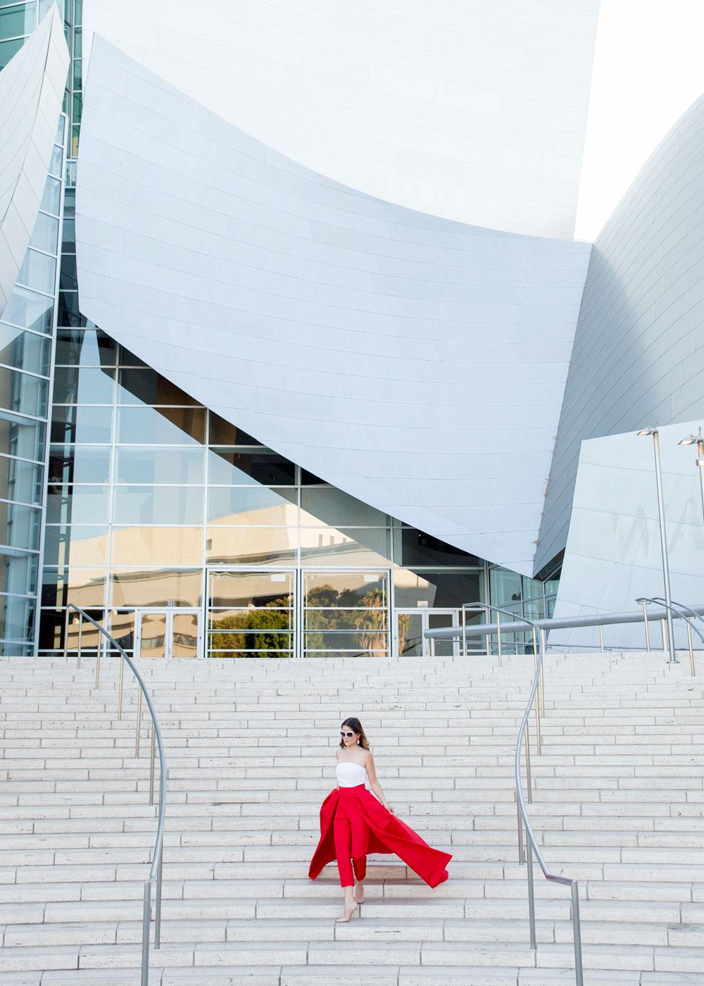 Disney Concert Hall Photo Shoot