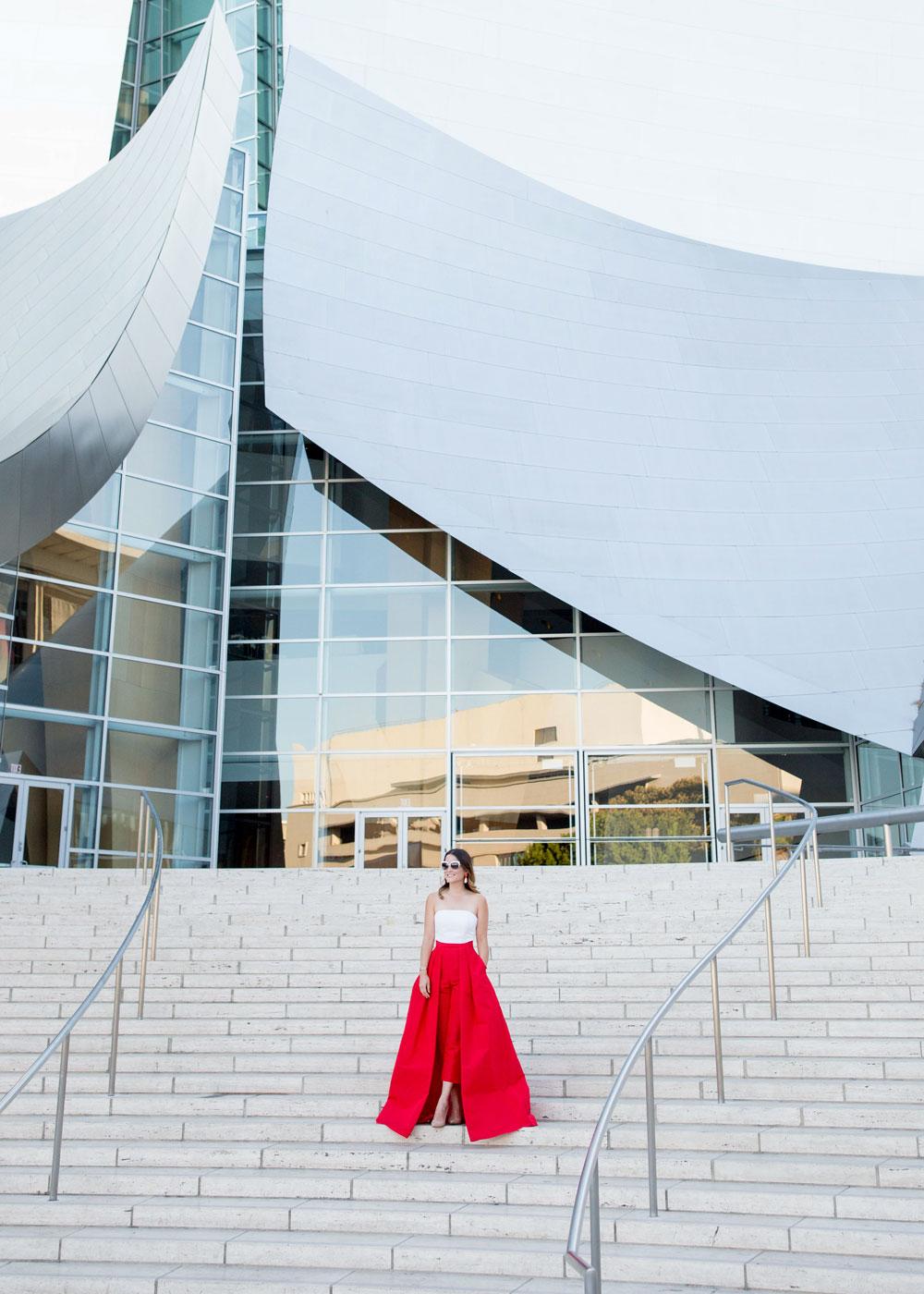 Alexia Maria Red Jumpsuit