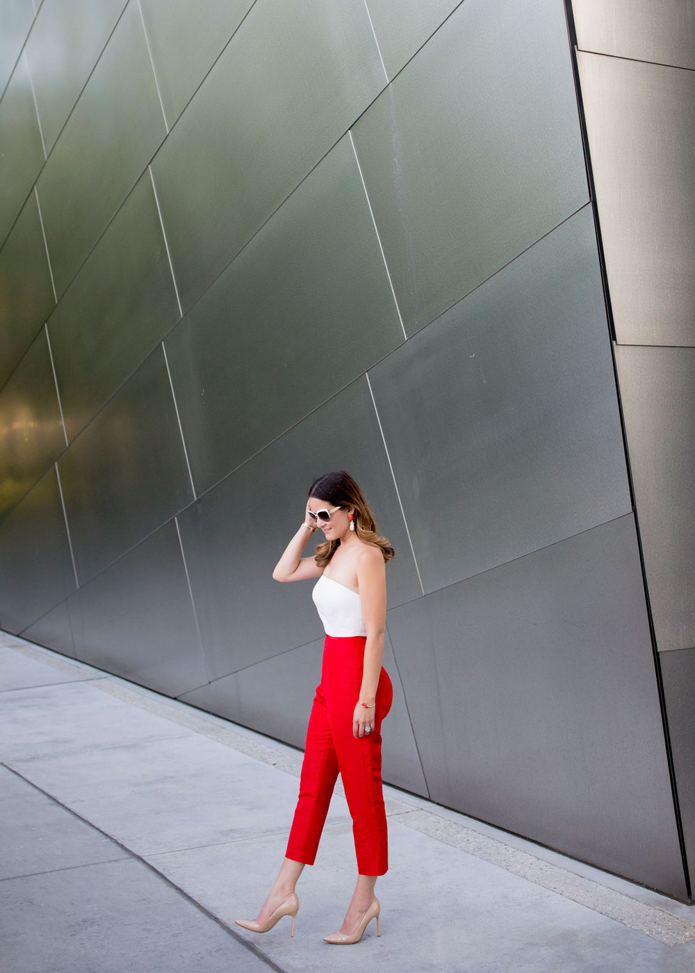 Alexia Maria Red and White