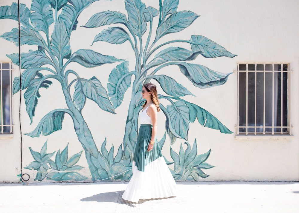 Los Angeles Murals Colored Walls
