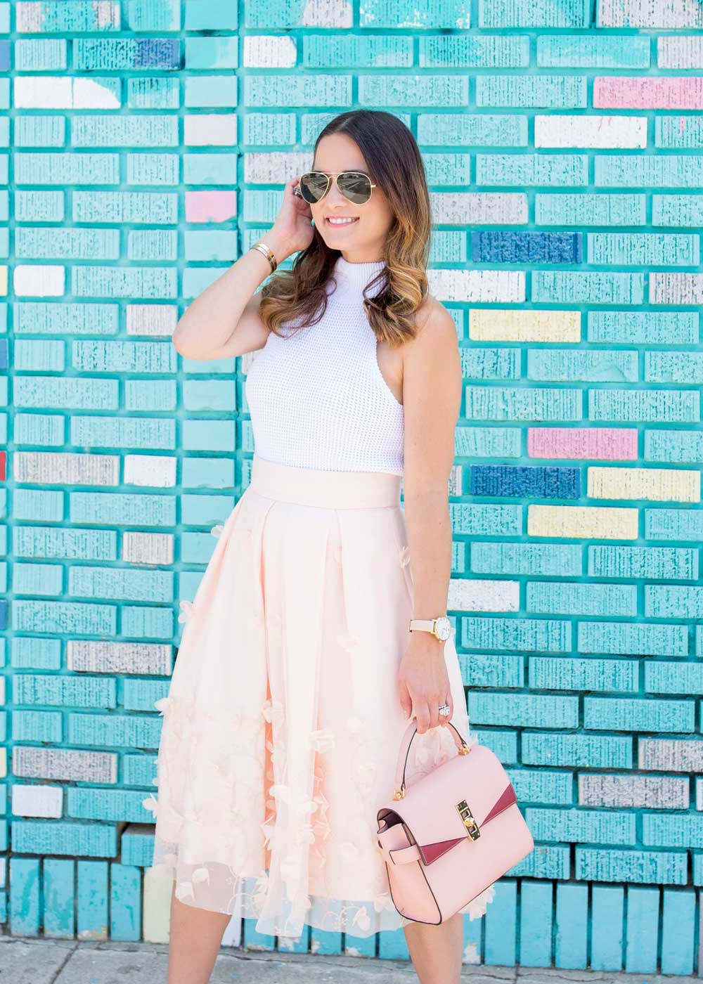 Pink Petal Skirt