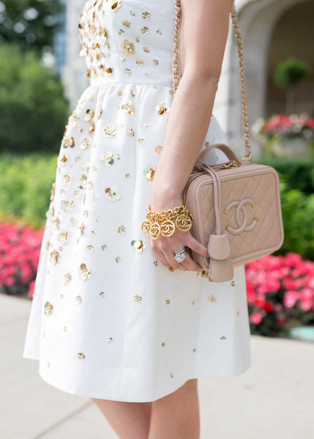 Kate Spade Sequin Fit And Flare Dress