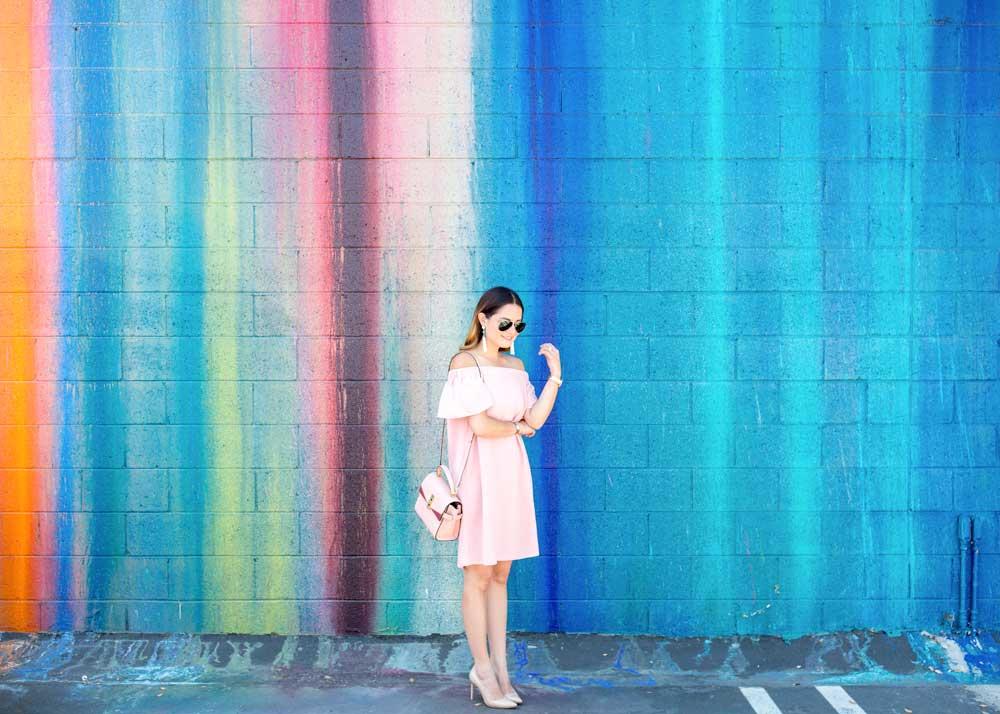 Multicolor Mural Los Angeles