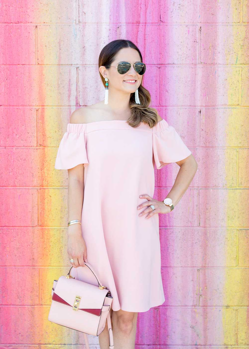 Henri Bendel Pink Bag