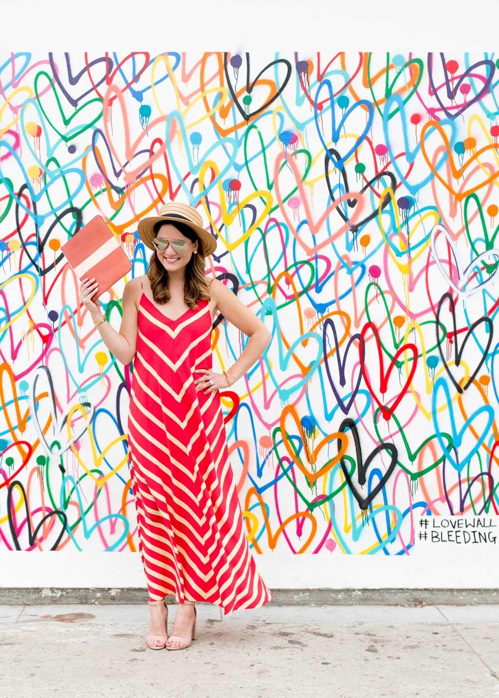 Hearts Wall Los Angeles