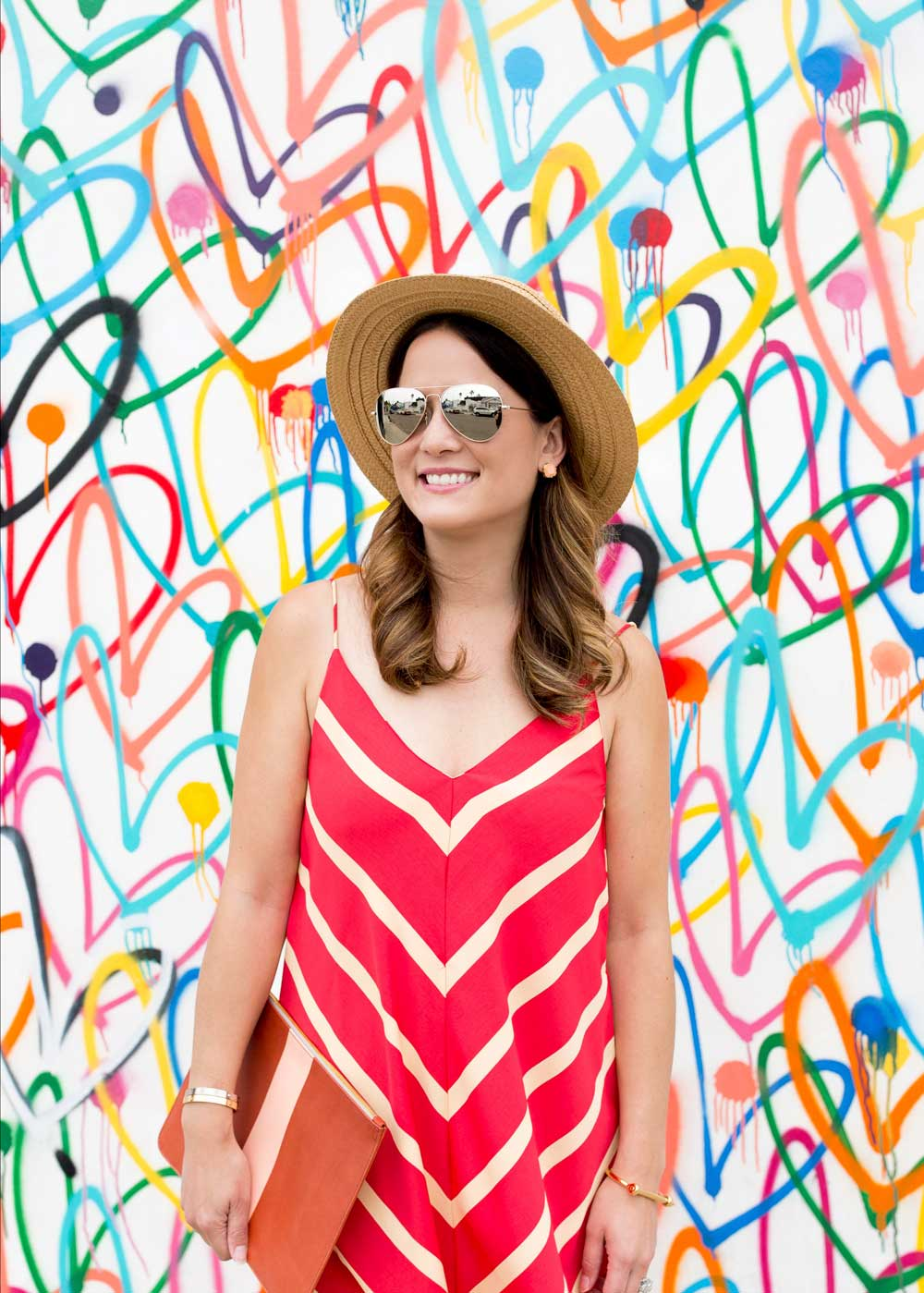 Straw Boater Hat Blogger