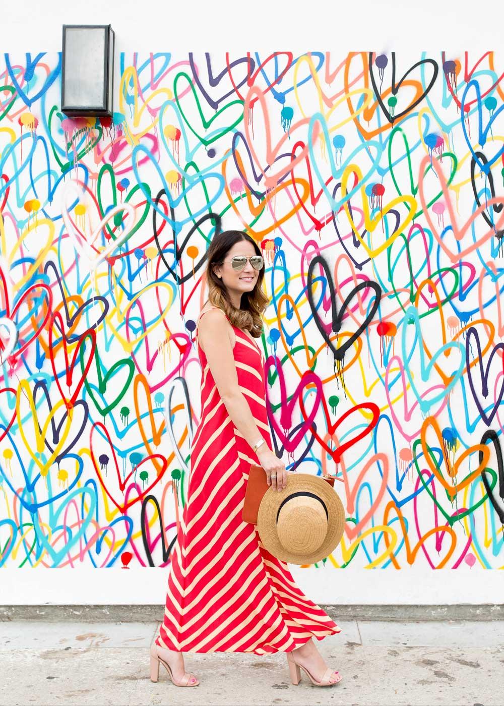 ASOS Red Maxi Dress
